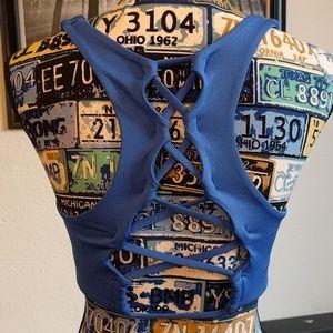 Victoria's Secret Ultimate Large blue bra